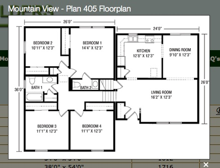 98 best images about house plans on pinterest split for Mountain view floor plans