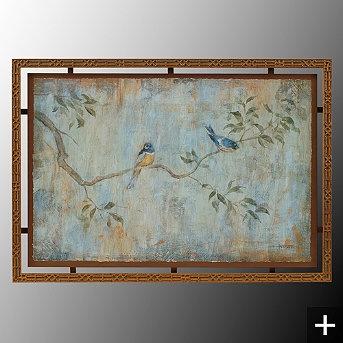 Blue Birds Wall Art