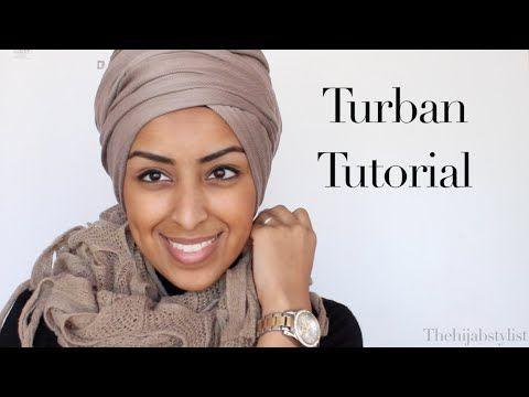 For The Turban Queen. Turban Tutorial - YouTube