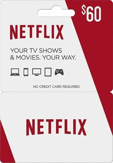 Netflix - $60 Gift Card: Get FREE $10 Best Buy Gift Card #coupons #discounts