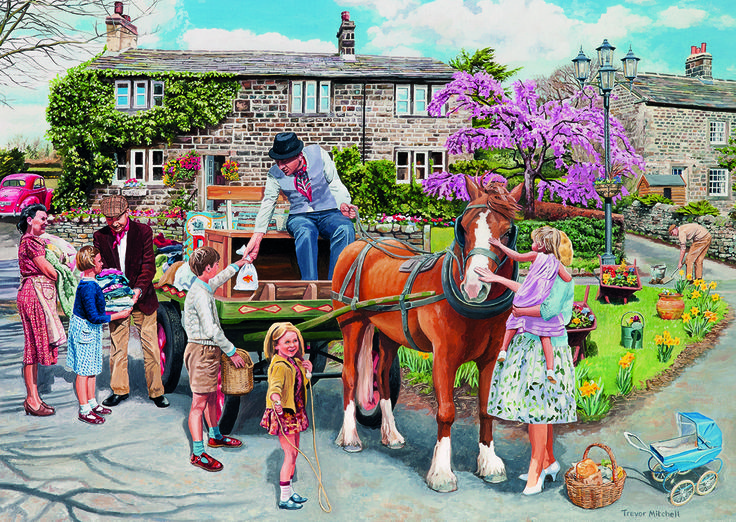 Rag & Bone 2 Puzzle #jigsaw #puzzle #Christmas #gifts #xmas #grandparents #children #hobby #fun #family #gibsons #set