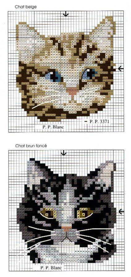Схема котов на рубашку - Ищу схему - Форум - Портал «Вышивка крестом»