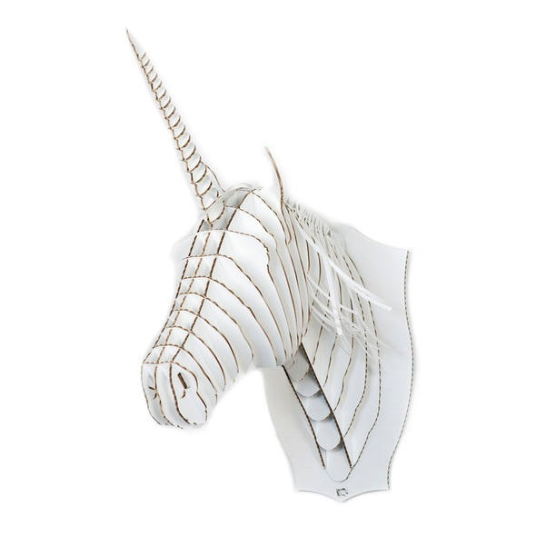 Merlin Unicorn Trophy White white, makes you smile, models & crafts
