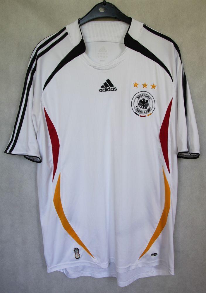 Adidas Germany National Team Home Jersey 2005 2006 World Cup Sz L Adidas Germany Jersey World Cup Adidas