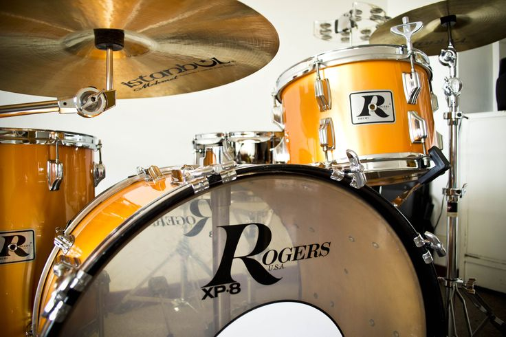 Rogers Drums XP8 - 1978 restaurada