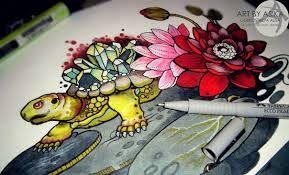 Картинки по запросу эскизы тату морской конек