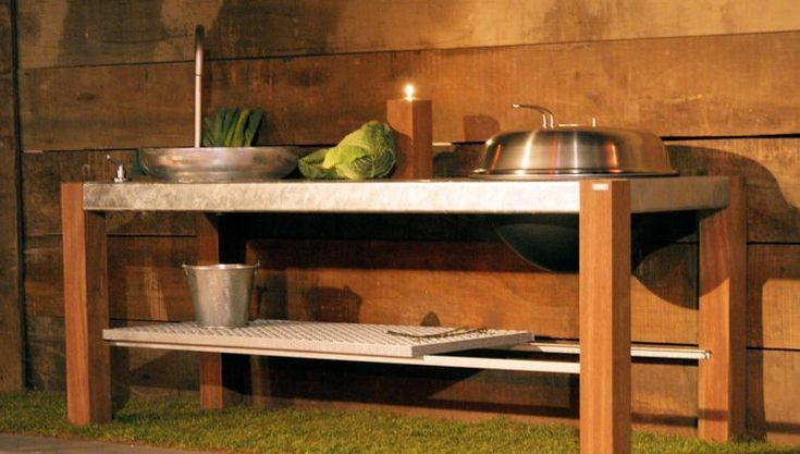THORS Savra with sink and grill #outdoorkitchen #outdoorliving #patiofurntiure