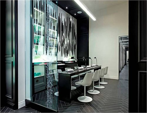 100 best images about nail salon design on pinterest hair salons retail design and toronto - Bar salon design ...