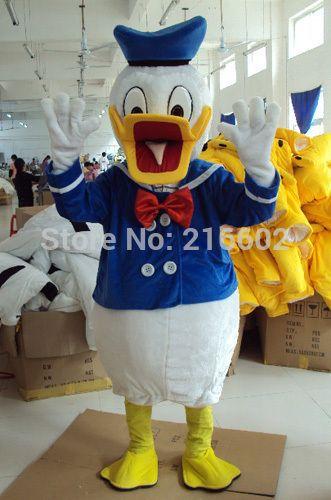 Donald Mascot Costume Donald Duck Mascot Costume Christmas Costume Free Shipping #Affiliate