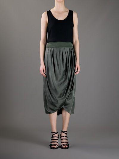 Blayde - draped skirt