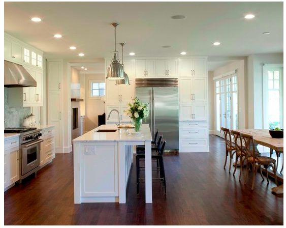 Best 25+ Kitchen dining combo ideas on Pinterest | Living room kitchen  combo small, Small kitchen family room combo and Living room kitchen dining  room ...