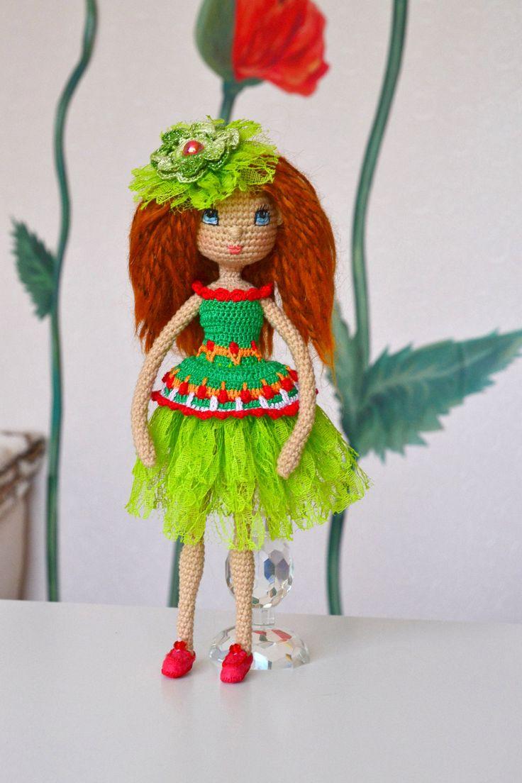 Crochet Dolls Hat Pattern : 384 best images about ????????? ????? on Pinterest Girl ...