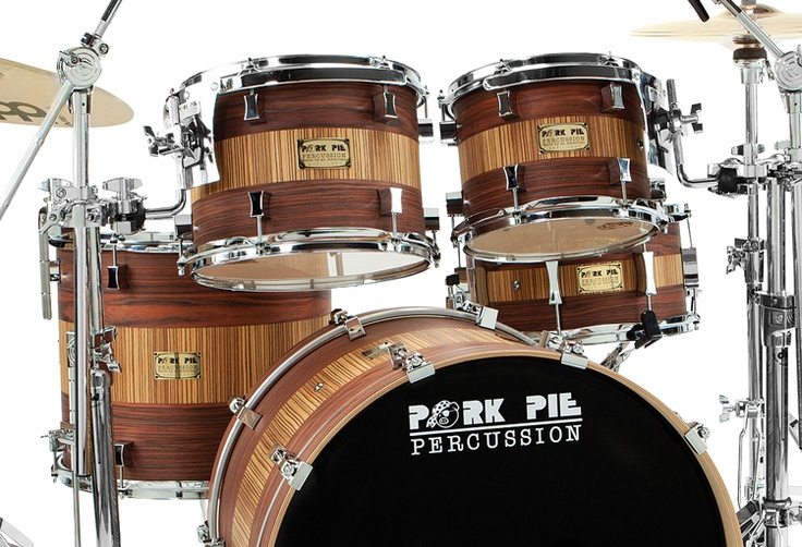 Holy shit this is gorgeous......  Pork Pie Percussion / Products / Drumline: White Ice Wrap