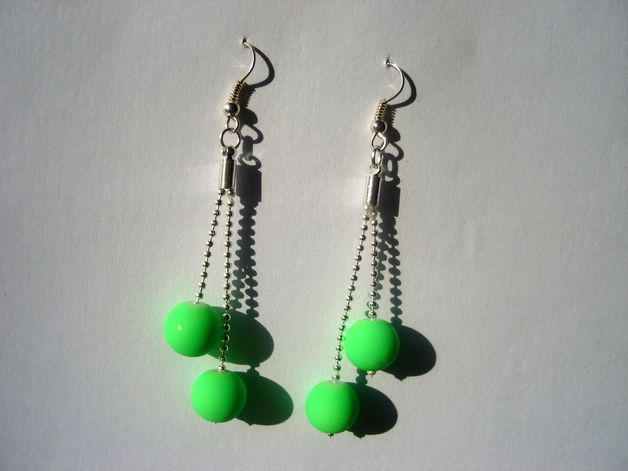 NEONS ON CHAINS 2 - earrings