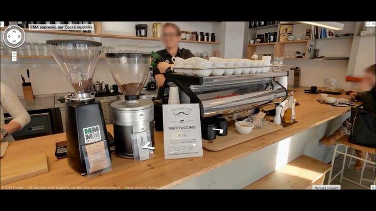 Ze školy víme, že Ema má mísu, nyní má i Espresso Bar - druhý nejlepší podnik otevřený v ČR podle Czech Bar Awards 2013 a také novou virtuální prohlídku Google StreetView + fotky. Výhoda pro vaši rychlou orientaci, kde lze Emu v Praze najít. Na skvělou kávu si už musíte zajít sami, vaše chuťové buňky žádná technologie nenahradí.