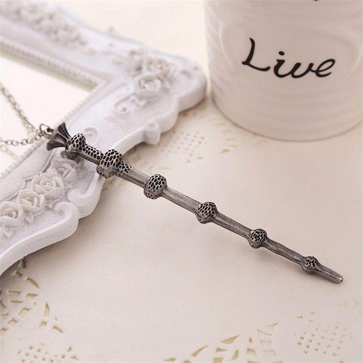 Harry Potter Magic Wand Pendant Necklace