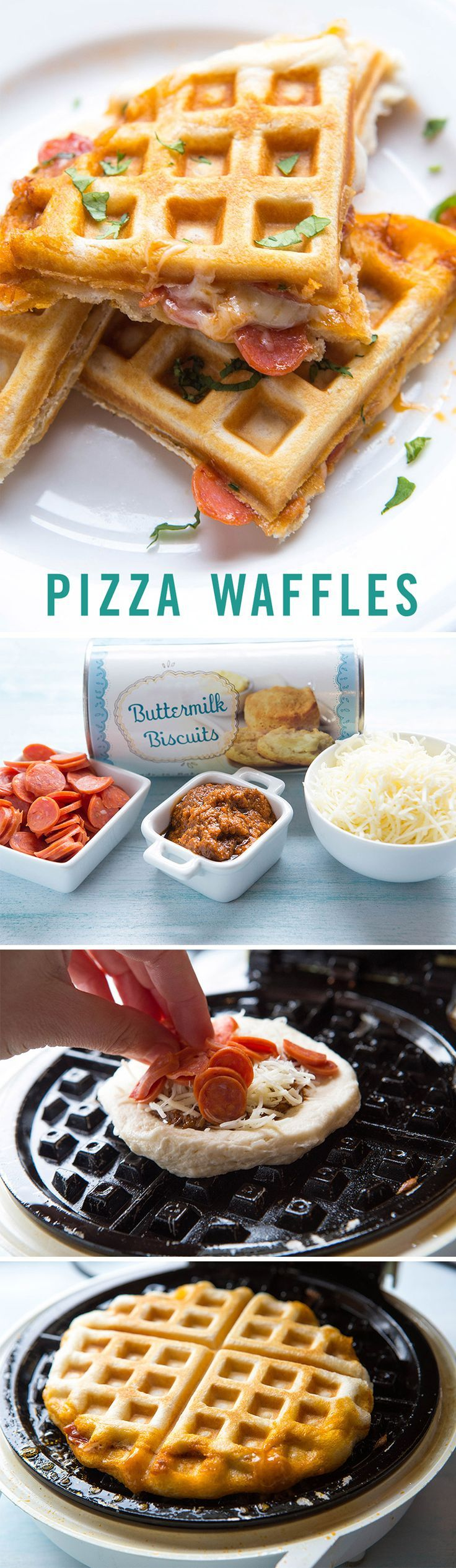 We love pizza and we love waffles, can you imagine the magical meal we'd have if we combined the two? Follow this tasty homemade recipe for stuffed pizza waffles and indulge for tonight's dinner.