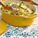 Try the Quinoa Salad with Grilled Vegetables and Feta Recipe on williams-sonoma.com