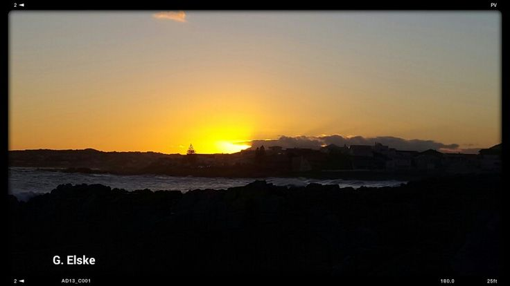 Sunset in #sandbaai #hermanus #Overberg.  Great #scenic #photography especially the #sunset
