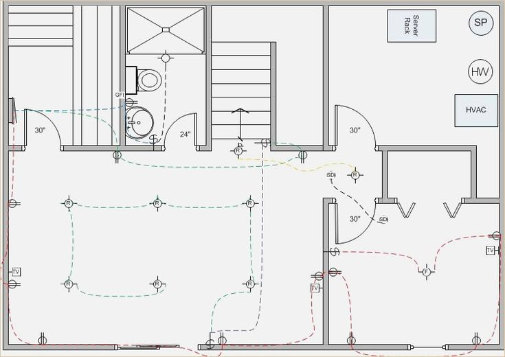 Basement Finish Wiring Diagram Electrical Diy Chatroom Home