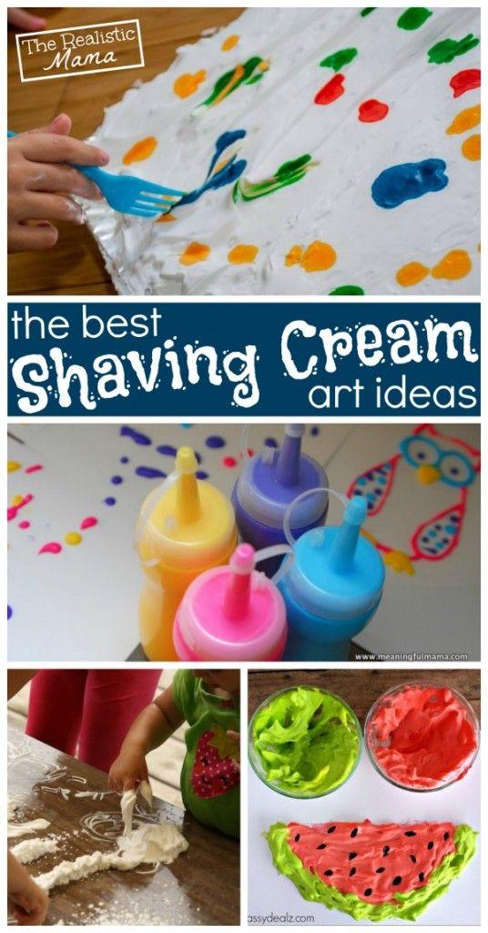 10 shaving cream art ideas kids paint - Kids Pictures To Paint