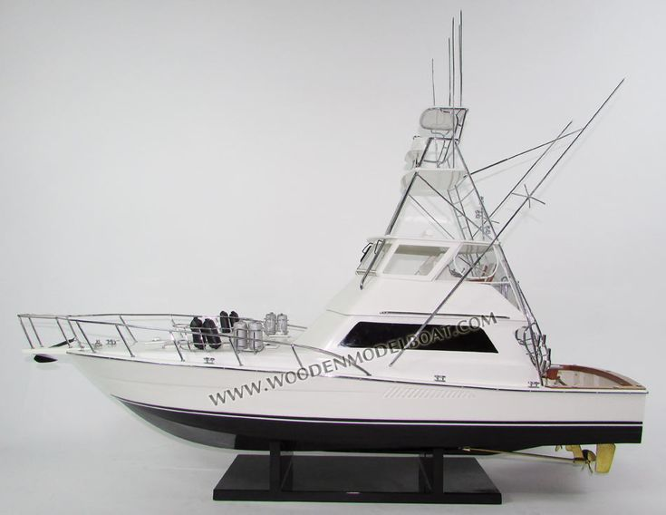 Hand-crafted Yacht Model Viking 47 Convertible