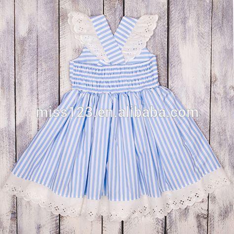 Source Fashion Design Small Girls Dress Popular Baby Girl stripes Print Pinafore Dress For Girls Ethnic on m.alibaba.com