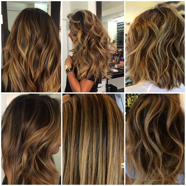 Instagram media by semamariehair - MY FAVORITE GOLDEN GIRLS:: All these colors are done with the same formula.  1. Goldwell silk lift bleach, with serum, Olaplex and their 30vol  2. RINSE  3. Tones the root of the highlight with 6n shades eq about an inch over when the highlight start for 5 min. To blend the natural color to the highlight.  4. Gloss 6g, 6nb shades EQ 5-7 min depending on how they pulled  I love gold, to maintain the gold, not yellow make sure to gloss ur hair once a month…