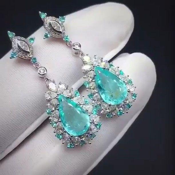 Alan Chang @taiwan_kunlun_jewelry. Beautiful earrings