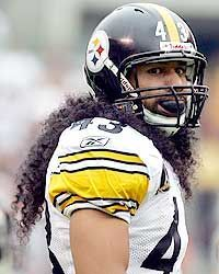 Steelers Troy Polamalu - HOT STUFF!!!