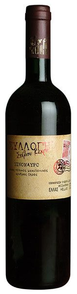S.Kechris Domaine, XINOMAVRO - PGI Greek Dry red wine - Varietal Blend: 100% Xinomavro - Late harvest, long skin contact for 8-10 weeks, ageing in oak barrels for 12 months - Bright ruby - Tomato, ripe wild cherry, blackcurrant, jammy figs and dried plums, with notes of coffee and spices - Balanced and vivid taste, rich in round tannins, with a complex aftertaste - Food pairing: Fatty yellow cheese, smoked cold cuts, roasted meats, sausages and Bolognese - Served: 20-22°C