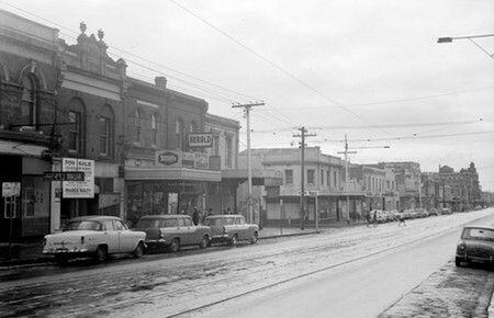 Brunswick St Fitzroy 1964