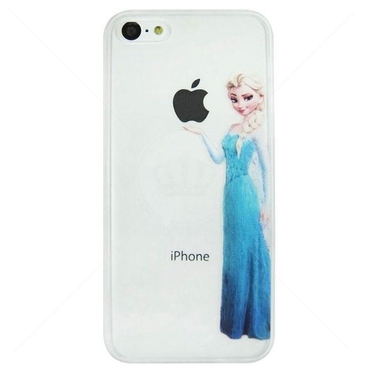 Capa de Silicone Frozen para iPhone 4/4S