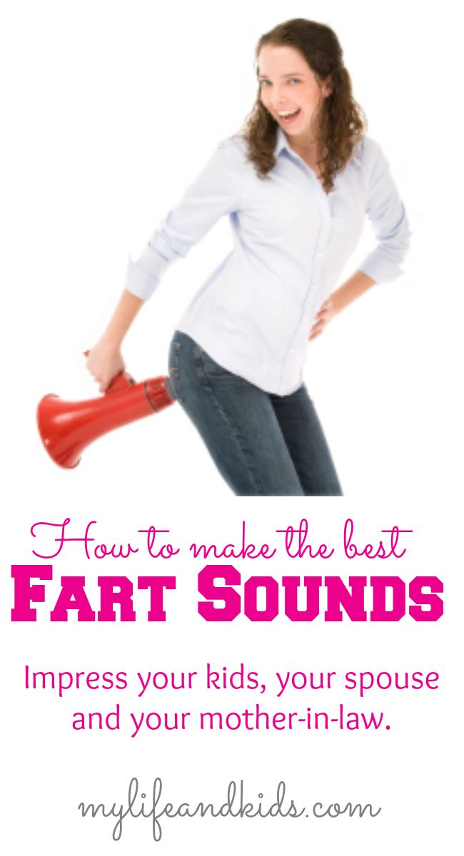 How to make the BEST fart sounds - to impress everyone in your life. (Wait till you see the fart board - too funny!)