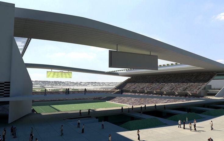 New Corinthians Stadium - 2014 World Cup opening venue - Sao Paulo, Brazil
