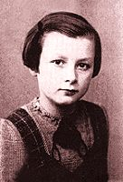 Simone Arnold-Leibster.  When her parents were put into concentration camps for refusing to 'Heil Hitler', at the age of 11 she was arrested by juvenile authorities and put into a Nazi penitentiary home.  For two years she was forbidden to talk and was forced to do hard labor. At the end of the war, she was reunited with her parents, rebuilt her life and went on to devote her life to teaching others the value of 'loving your enemies and praying for those persecuting you'.