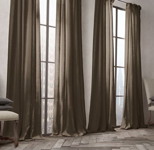 The 25 Best Ideas About Restoration Hardware Curtains On Pinterest Wood Curtain Rods Wooden