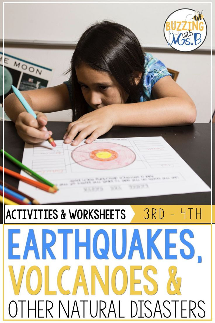 Plan Your Science Lessons Fast With These Printable Activities This Resource Include Earthquake Lessons Vocabulary Activities Instructional Coaching Resources