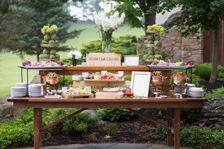 25 Ideas For An Outdoor Wedding: 25+ Best Ideas About Outdoor Wedding Foods On Pinterest