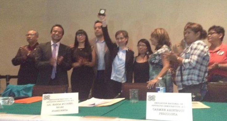 Entregan medalla Emilio Krieger 2015 a familiares de los 43 y a Carmen Aristegui | Somos el medio