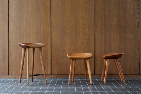 Living Edge_Tractor Stools by Bassam Fellows