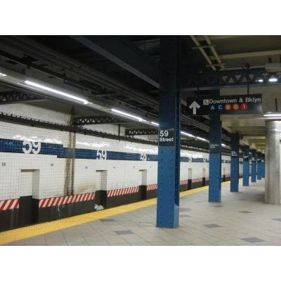 『ニューヨークの地下鉄』by chubbyさん