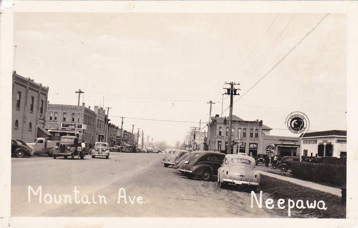 RP: Mountain Avenue , NEEPAWA , Manitoba , Canada , 1930s-40s