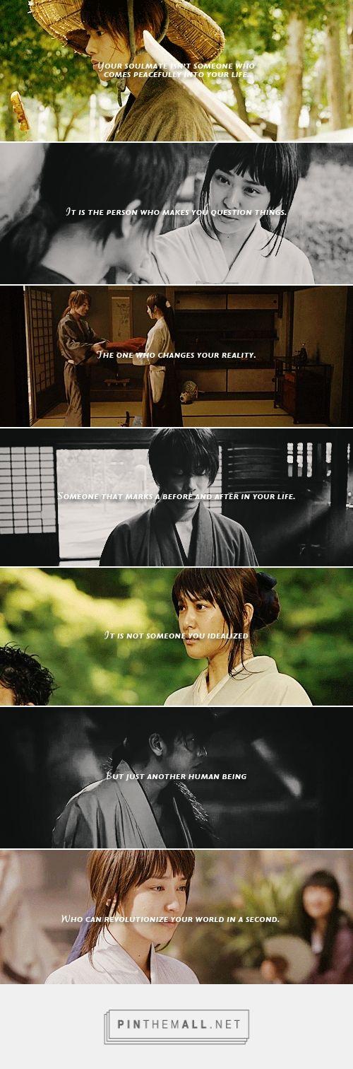Kenshin & Kaoru  source: white-plum #Rurouni Kenshin #jmovie