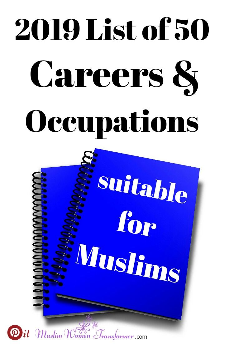 These Are 50 Halal Jobs Or Careers And Occupations Suitable For