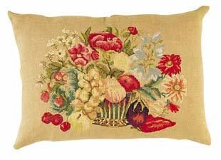 Corbeille fruits, fleurs, legumes – French Needlework Kits, Cross Stitch, Embroidery, Sophie Digard – The French Needle