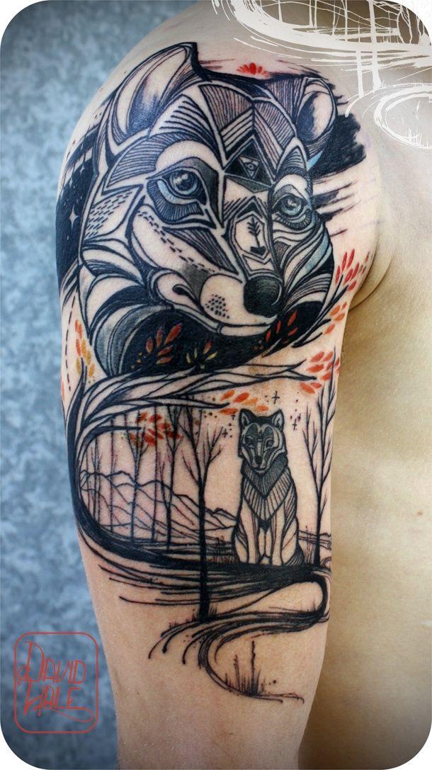 cool tatoo ideas by david hale 50 Cool Tattoo ideas