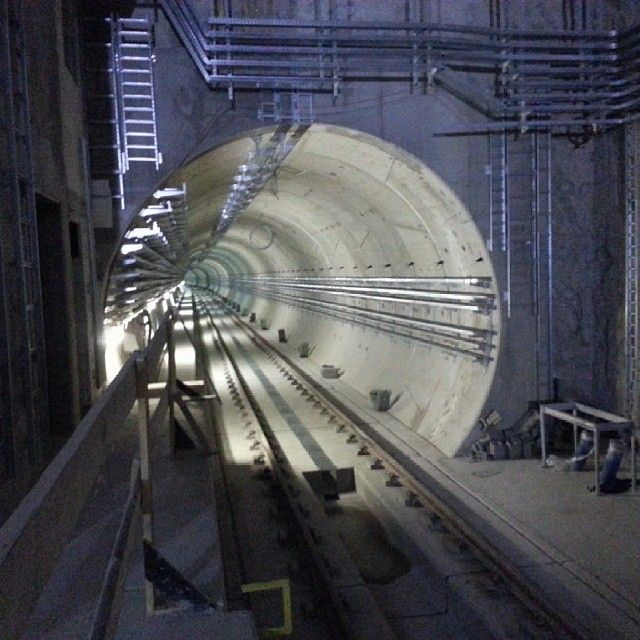 II linia #metro #warszawa #agp