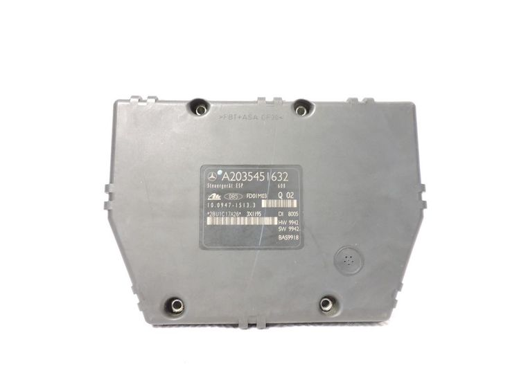 01-02 Mercedes C230 ABS A2035451632 ESP Brake Module Pump C320 C240 W203 Unit #mercedes