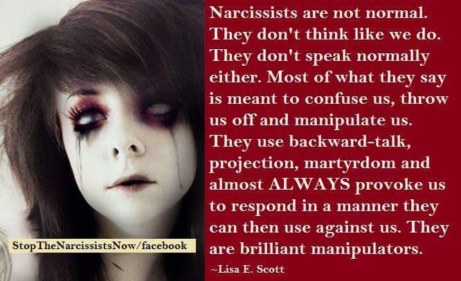 Even an inverted, quiet, weak, covert narcissist.
